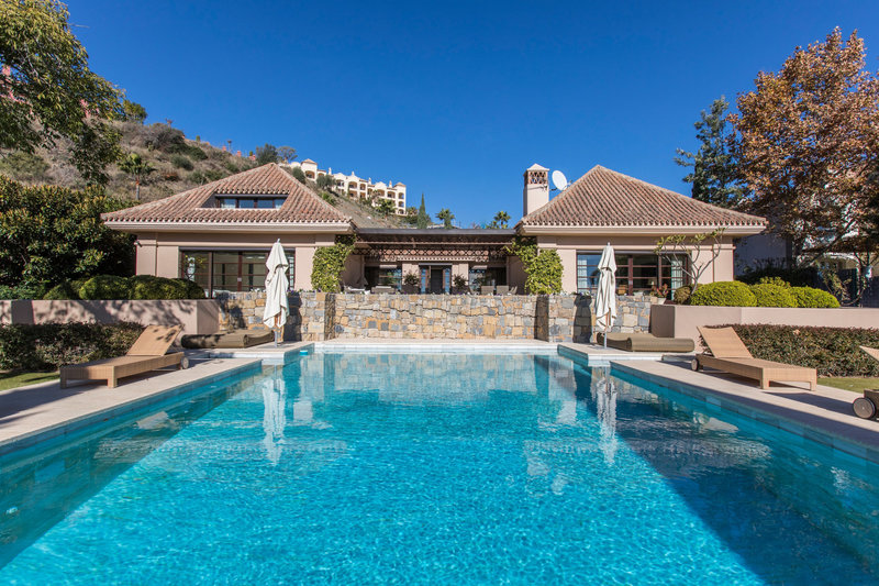 Pool of Spectacular villa in Benahavis