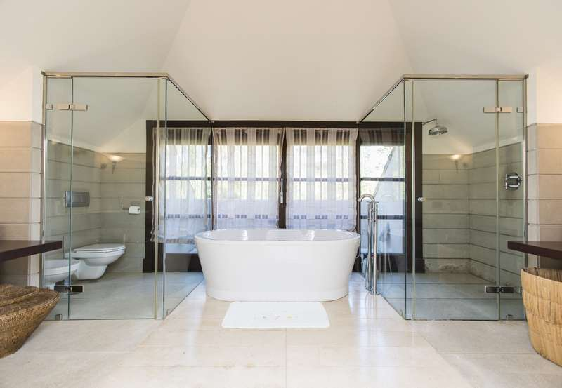 Bathroom of Spectacular villa in Benahavis