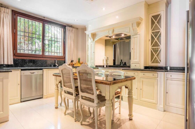 kitchen of sierra blanca villa
