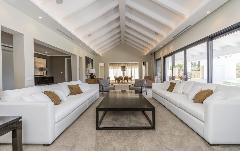 Living Room of Villa Adagio