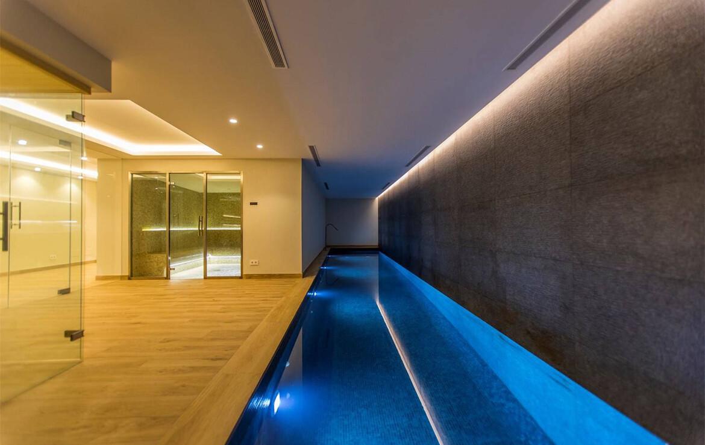Indoor pool of Villa Adagio