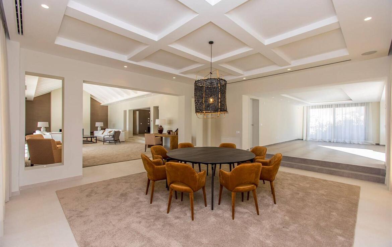 Dining Room of Villa Adagio