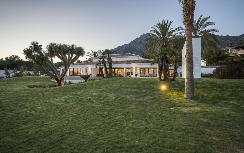 Exterior of Villa Adagio