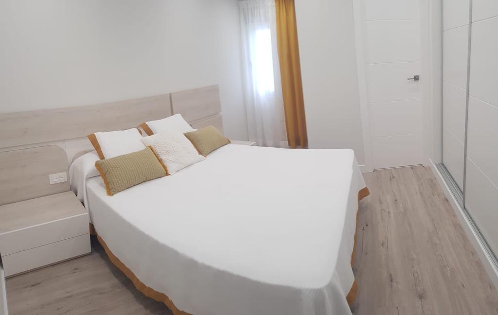 Bedroom of apartment in marbella center