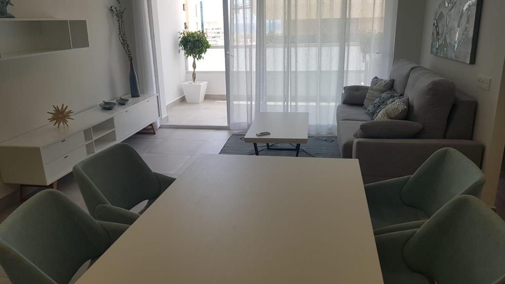 Living room of apartment in marbella center